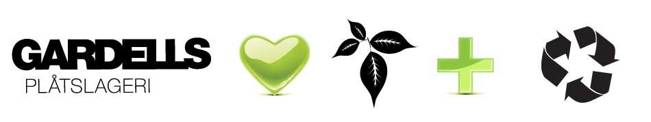 Gardells Plåtslageri tar hand om miljön och källsorterar